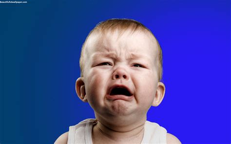 crying baby funny face beautiful hd wallpaper