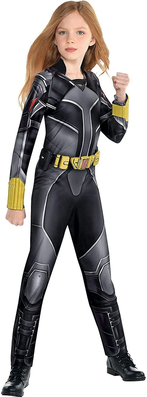 Party City Black Widow Halloween Costume For