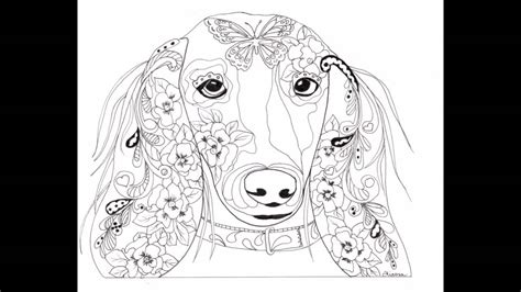 dog coloring sheet book images pictures pages