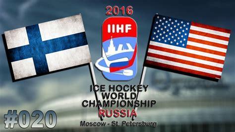 Startseite > eishockey > wm > news. EISHOCKEY WM 2016 #020 - Finnland - USA ★ Let's Play IIHF ...