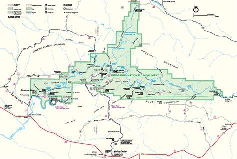 Carte Monument Pdf by Dinausor National Monument Votre Guide En Fran 231 Ais Sur