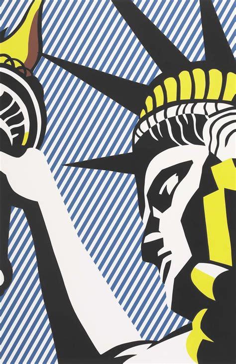 roy lichtenstein the statue of liberty