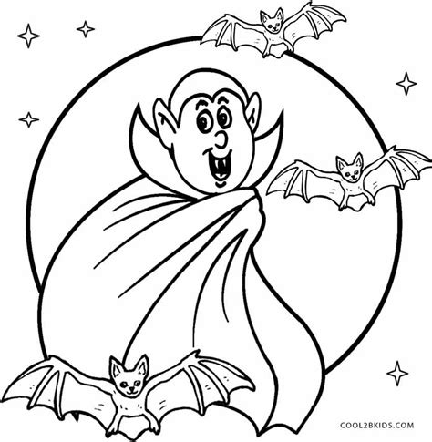 printable vampire coloring pages  kids coolbkids
