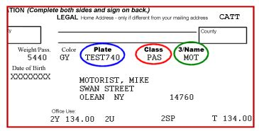 Florida Boat Registration Cost by Sle Registration Documents New York State Department