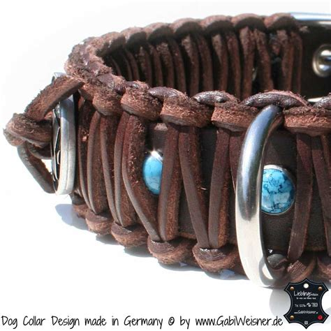 indianer halsband fuer grosse hunde hundehalsband