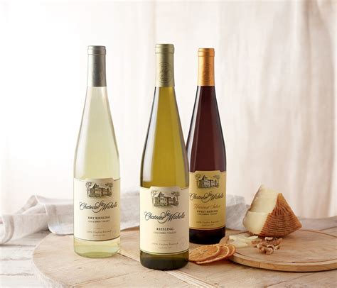 michelle chateau ste riesling wine columbia valley csm dry sweet washington weekly pick cabinet via wshg