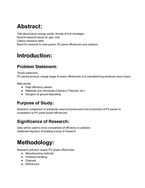 research action plan examples  word pages examples