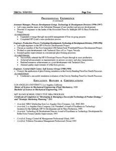 manufacturing resume objective workalpha manufacturing manager resume