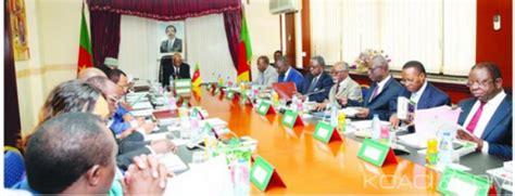 cabinet de conseil actuariat cameroun conseil de cabinet le pm prescrit la r 233 forme des centres sp 233 ciaux d 233 tat civil actu