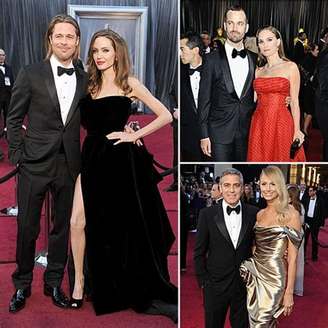 Oscars Best Dressed Couples Popsugar Fashion