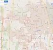 Warner Robins, Georgia Map