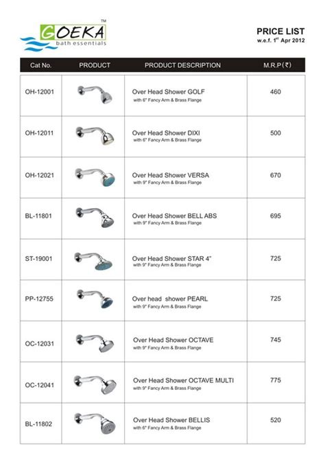 complete bathroom accessories price list price list manufacturer distributor