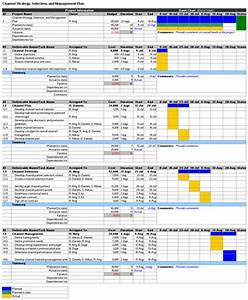 Free marketing plan excel templates download for Publicity plan template