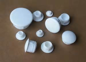 White Plastic Screw Hole Plugs
