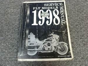1998 Harley Davidson Electra Glide Ultra Classic Shop Service Repair Manual