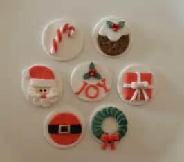 christmas edible cupcake toppers sugar spice cupcakes madeit com au