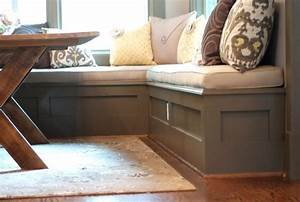 Kitchen Corner Bench Instructions Cliff With Built In
