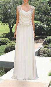 romantic wedding gown vintage style wedding gown bohemian With rustic vintage wedding dresses