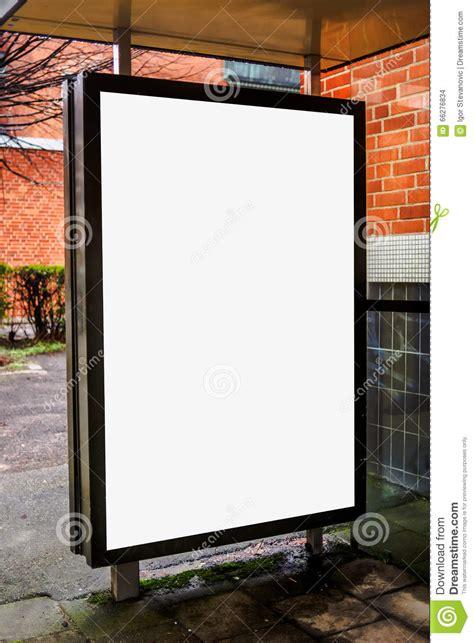 Blank Billboard blank bus stop advertising billboard stock photo image 958 x 1300 · jpeg