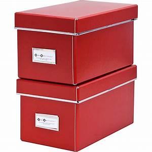 Cd Box Aufbewahrung : cd aufbewahrungsboxen elsa rot 2tlg store it mytoys ~ Whattoseeinmadrid.com Haus und Dekorationen
