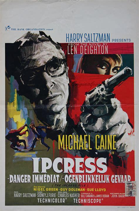 ipcress file original vintage film poster original
