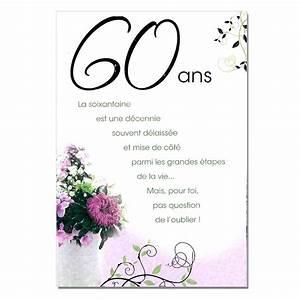 Faire Part Anniversaire 60 Ans : formule invitation anniversaire mariage dans texte ~ Edinachiropracticcenter.com Idées de Décoration