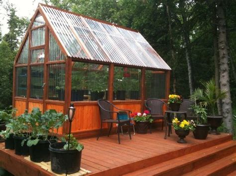 creative greenhouse ideas outdoorthemecom