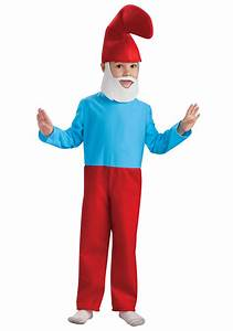Child Papa Smurf Costume - Kids Papa Smurf Halloween Costumes