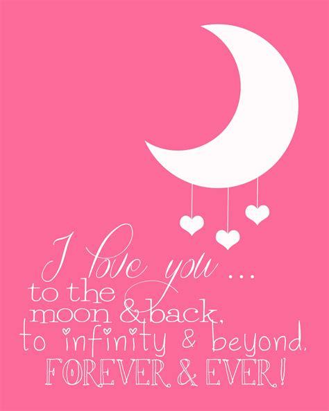 Funky Polkadot Giraffe I Love You To The Moon And Back