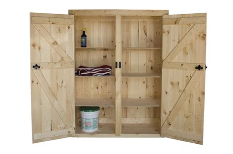 shelf cabinet with doors amish pine furniture cabinets tack boxes feed bins