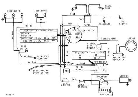 John Deere Key Switch Wiring Diagram