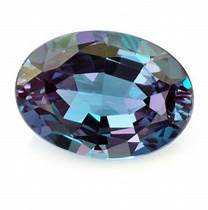 Strong color change Brazilian #Alexandrite oval weighing 0 ...