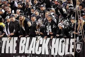 The Black Hole fan section during the third quarter ...