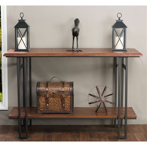 Konsole Aus Holz by Newcastle Wood And Metal Console Table Furniture Living