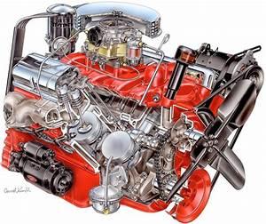 Cutaways Of 5 Fascinating American High Performance V8 Engines
