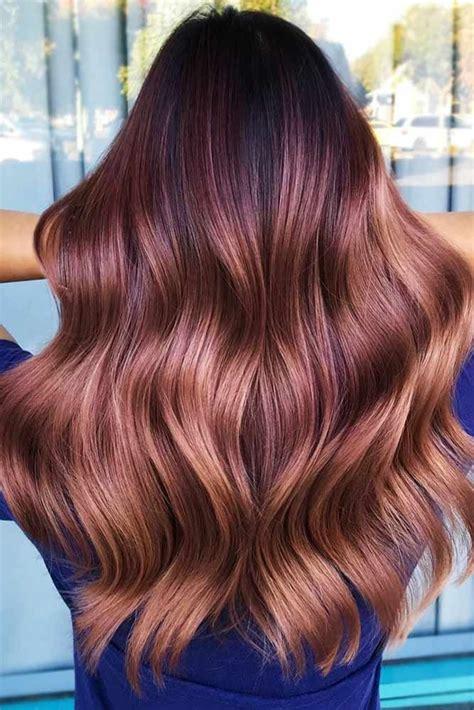 stylish mahogany hair trend     hair
