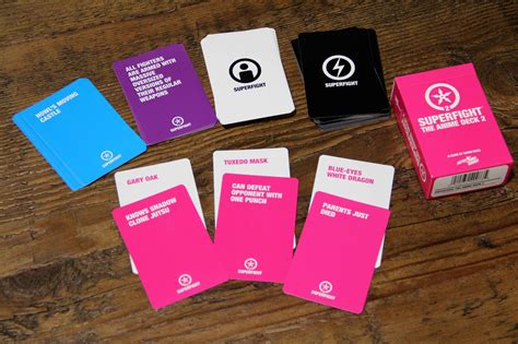 Superfight Deck 2 by Superfight The Anime Deck 2 Skybound