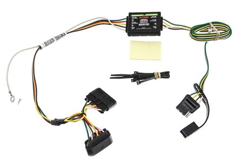2006 Gmc Trailer Wiring by Curt T Connector Vehicle Wiring Harness With 4 Pole Flat