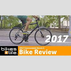 First Look 2017 Cannondale Quick 5 Bike Video Review