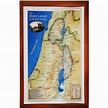 Raised-Relief 3D Map of the Holy Land in time of Jesus ...