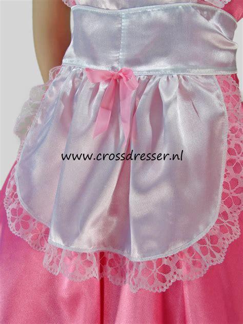 sissy maid pink dream costume uniform sexy