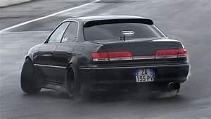Toyota Mark Ii Jzx100 Drifting On Track  U0026 Sound