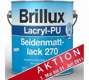 Brillux Wandfarbe Test : brillux lacryl seidenmattlack 270 im test ~ Watch28wear.com Haus und Dekorationen