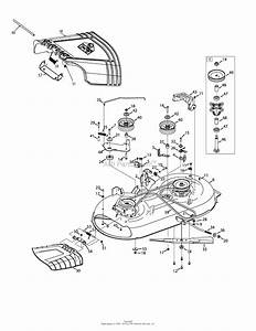 Troy Bilt 13wm77ks011 Pony  2015  Parts Diagram For Mower