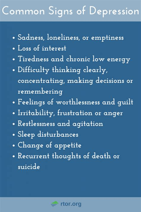 depression resources  recover