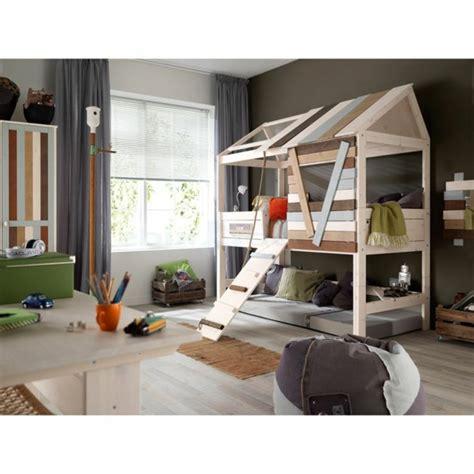 cabane chambre gar輟n le plus beau lit cabane pour votre enfant