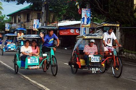 philippine pedicab transportation in manila