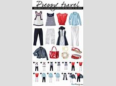 Preppy summer travel clothes House Mix