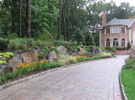 landscaping for driveways driveway design ideas landscaping network