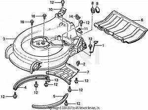 Honda Hr21 Sxa Lawn Mower  Jpn  Vin  Hr21